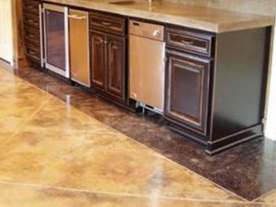Concrete Floors Kitchen Images