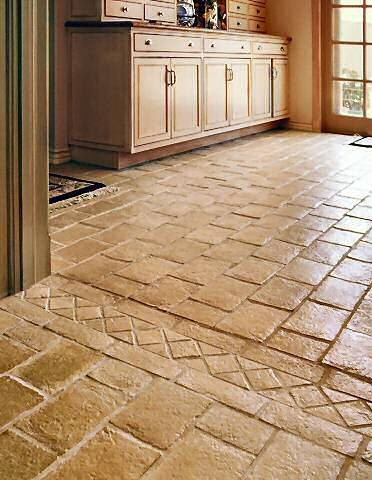 Lenz custom concrete boise flooring patios driveways for Cement tiles for kitchen
